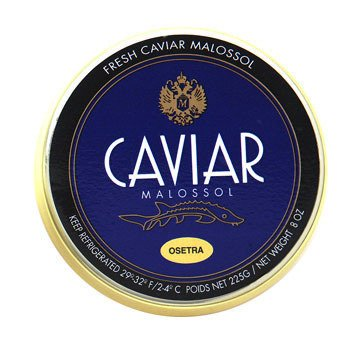 Fresh Farmed Caviar (Osetra Amur Imperial Gold Caviar Fresh Farmed - 4 oz )
