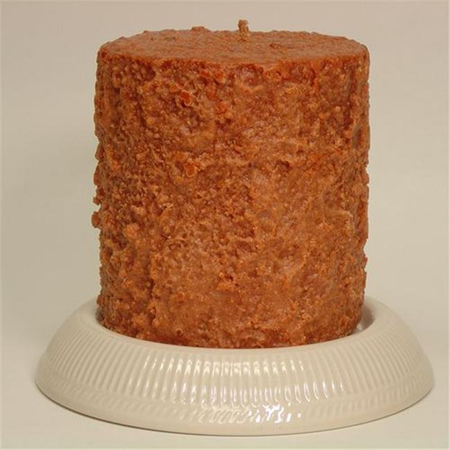 Hearth & Home Traditions 20002 4x4.5 Cake Candle - Cinnamon Spice