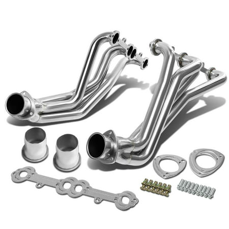Chevy Truck Exhaust Manifold - Chevy/GMC C/K-Series Small Block V8 2pcs Stainless Steel Header/Exhaust Manifold (Polished)