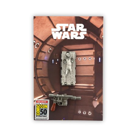 Han Solo Blaster (Star Wars Exclusive Han Solo Carbonite & Blaster Metal Pin)