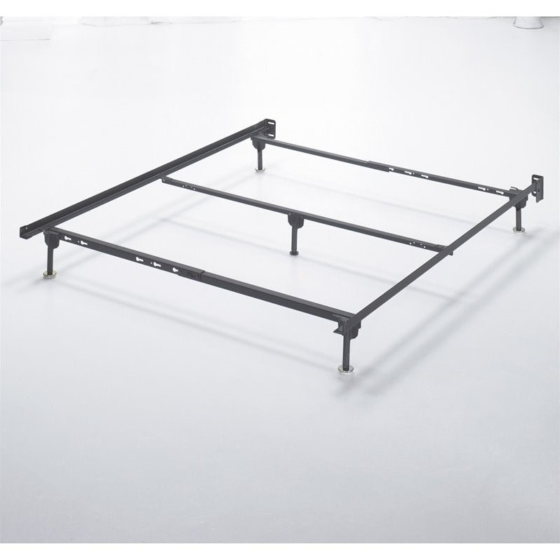 Ashley Queen Metal Bed Frame in Black