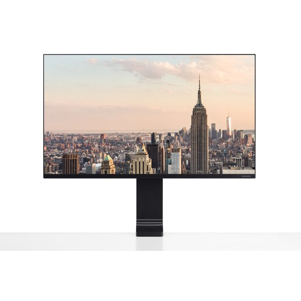 "SAMSUNG 32"" Class Space 4K UHD Wide Screen WQHD PLS Panel (3840 x 2160) Monitor- LS32R750UENX/ZA"