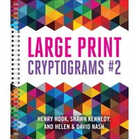 Large Print Cryptograms #2 (Paperback)