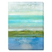 Artistic Home Gallery 'Azure Bound' by Jill Martin Painting Print on Wrapped Canvas