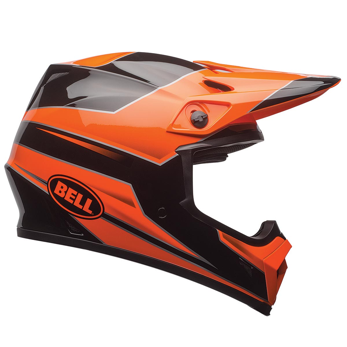 Bell MX-9 MIPS Stryker Orange Motocross Helmet