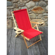 Outer Banks Folding Chair in Red