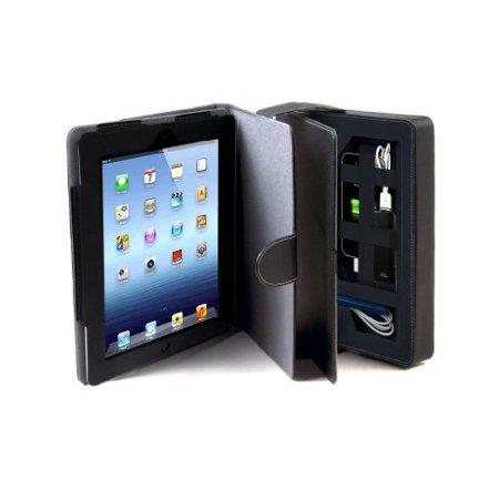 Cta Digital Travel Kit - CTA Digital Multi-Storage Travel Case for iPad 2/3/4 (PAD-MSTC)