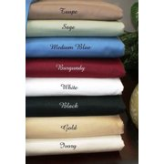 1131-full-ivory 5 SIZES-600TC Solid Egyptian Cotton Bed Sheet Sets