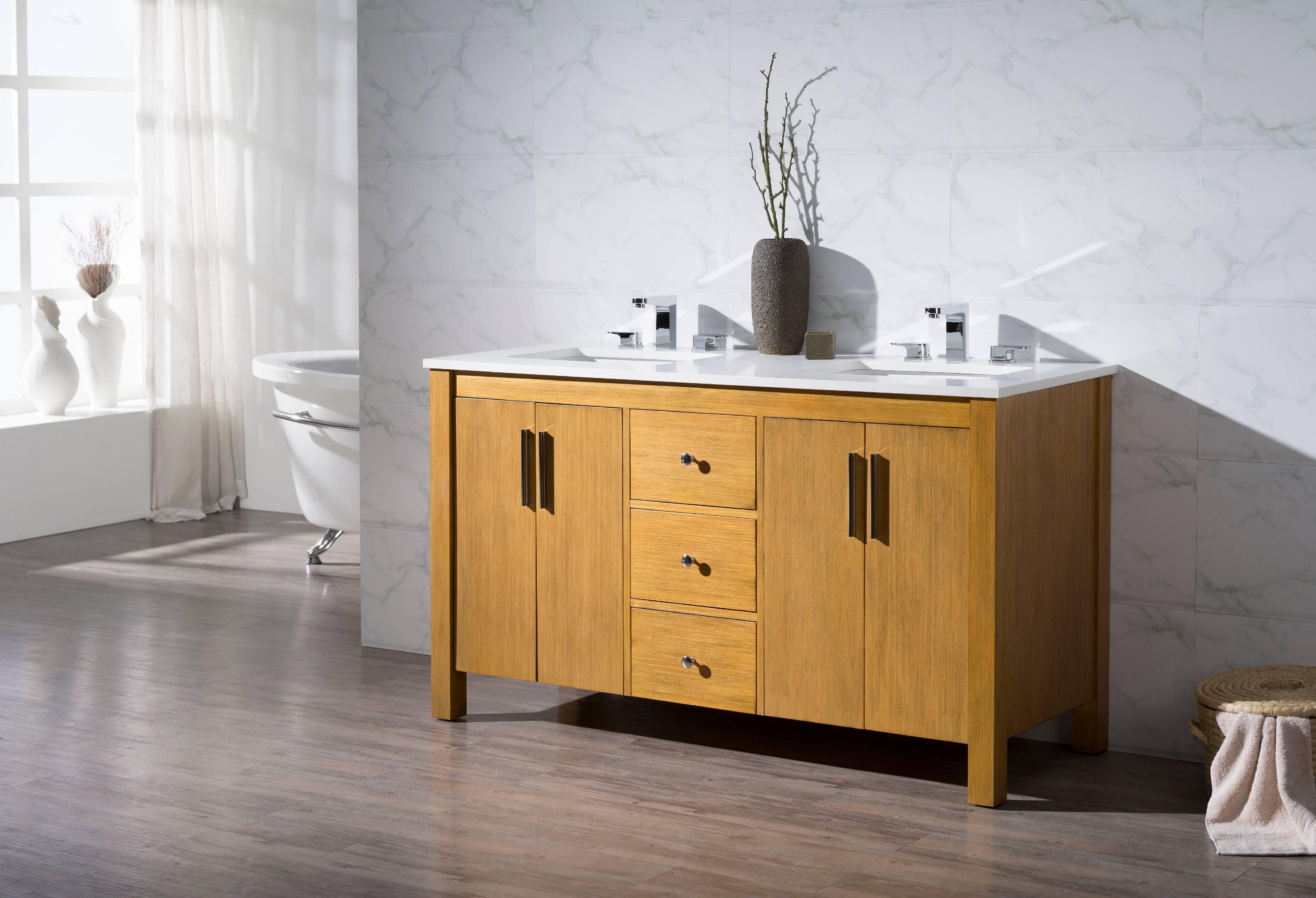 About this item. Windsor 59 Inch Double Sink Bathroom Vanity   Walmart com