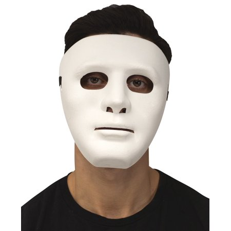 White Blank Mask - Scary Blank Mask