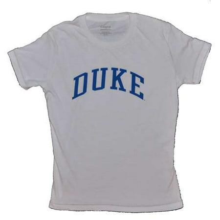 Duke Blue Devils T-shirt - Ladies By League - White (Devil Ladies)