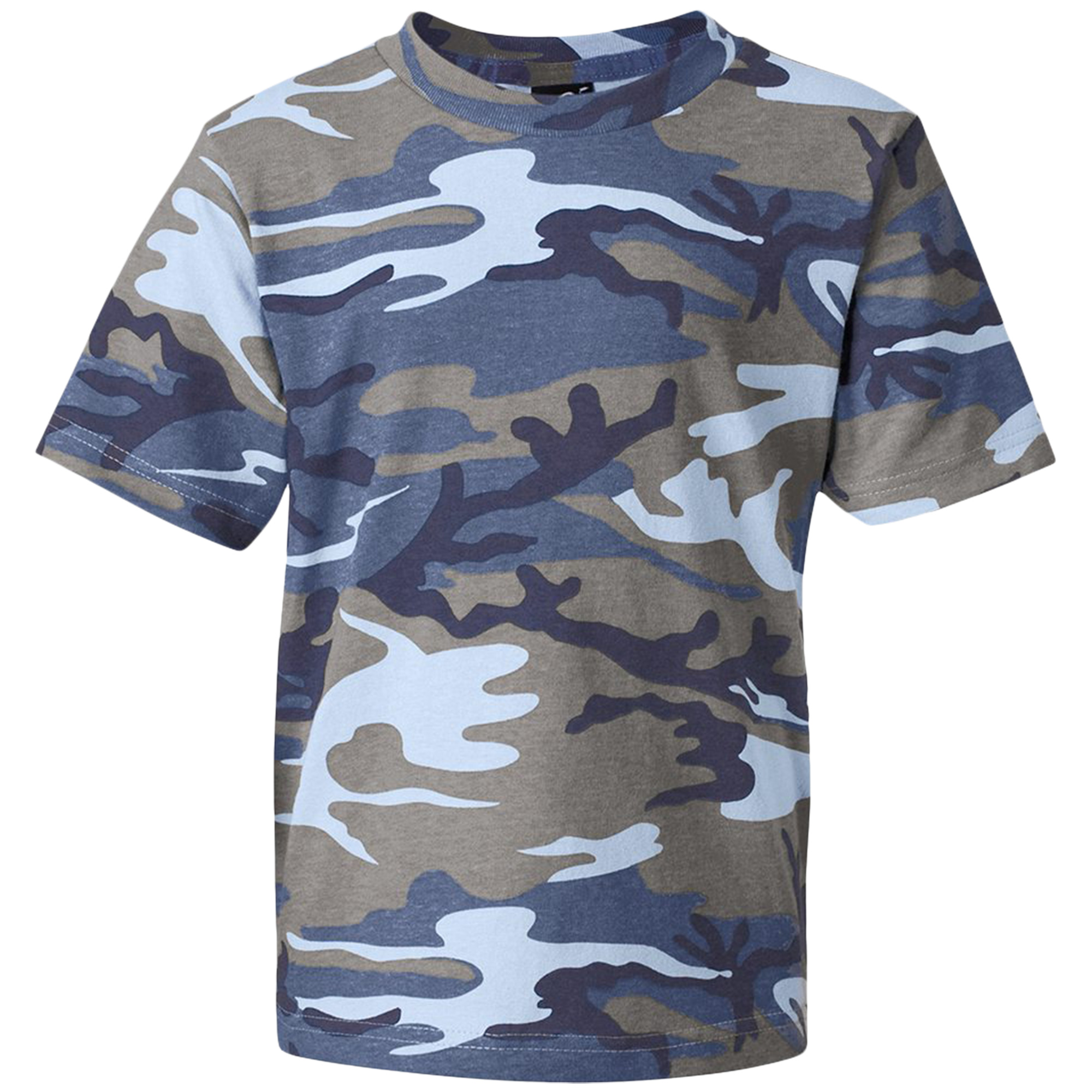 Code V 3315 Toddler's Crew Neck Camouflage T-Shirt