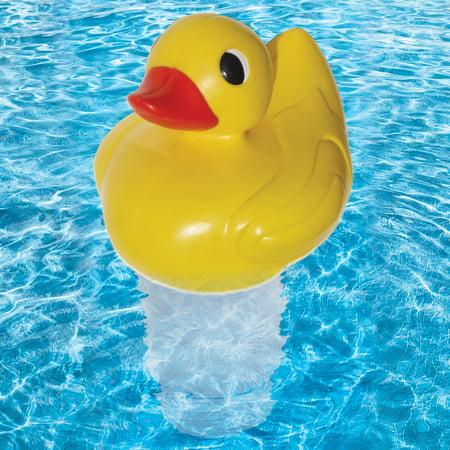 Poolmaster Pool Duck Floating Swimming Pool Chlorine Dispenser - Premier -