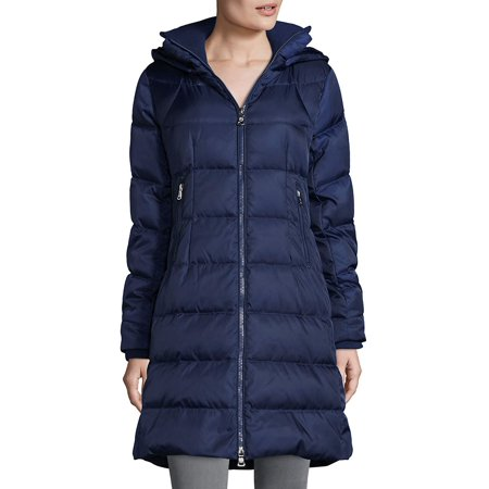 Marc New York Quilted Jacket - Quilted Faux-Fur Down Coat