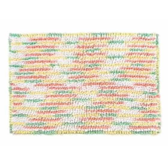 Celebrate Easter Loopy Shag Pile Pastel Accent Bath Rug
