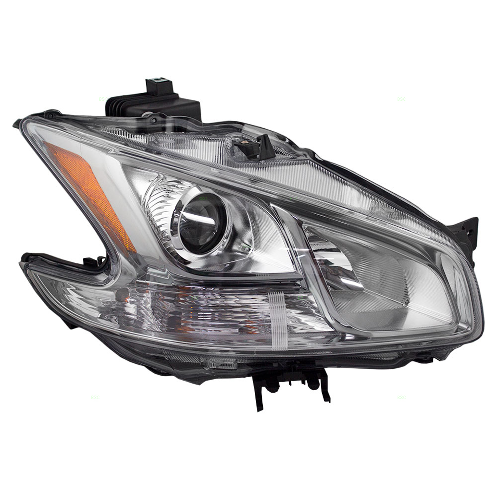 Passengers Halogen Headlight Headlamp Replacement for Nissan 26010-9N00A