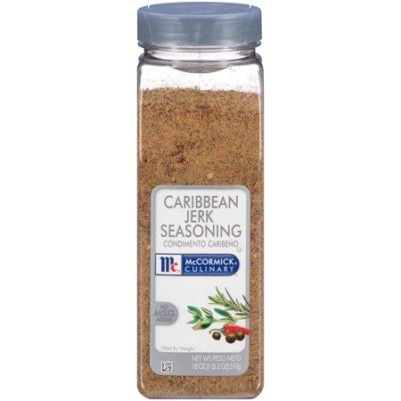 McCormick Culinary Caribbean Jerk Seasoning, 18 (Jerk Chicken)