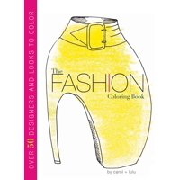 The Fashion Coloring Book (Paperback)