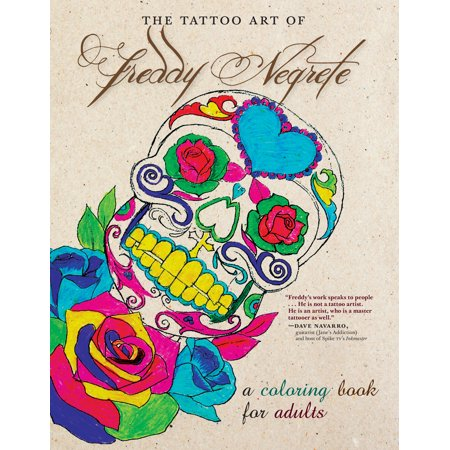 The Tattoo Art of Freddy Negrete : A Coloring Book for Adults](Freddy Chest Of Souls)