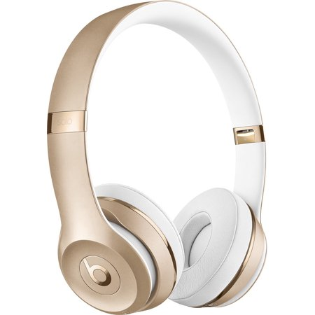 Beats Solo3 Wireless Headphones Gold (Gold Beats Wireless)