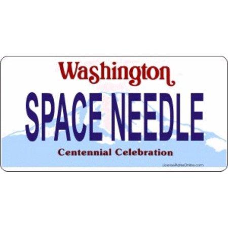 Design It Yourself Custom Washington Plate Free Personalization on Plate - image 1 de 2