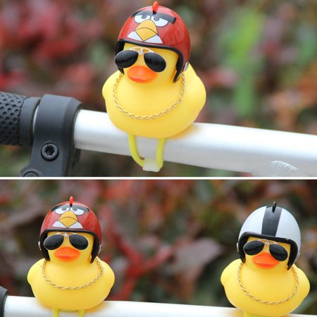 Broken Duck Sunglasses Duck Bicycle Duck Bell Social Turbo Duck Horn Car Light - image 5 of 10