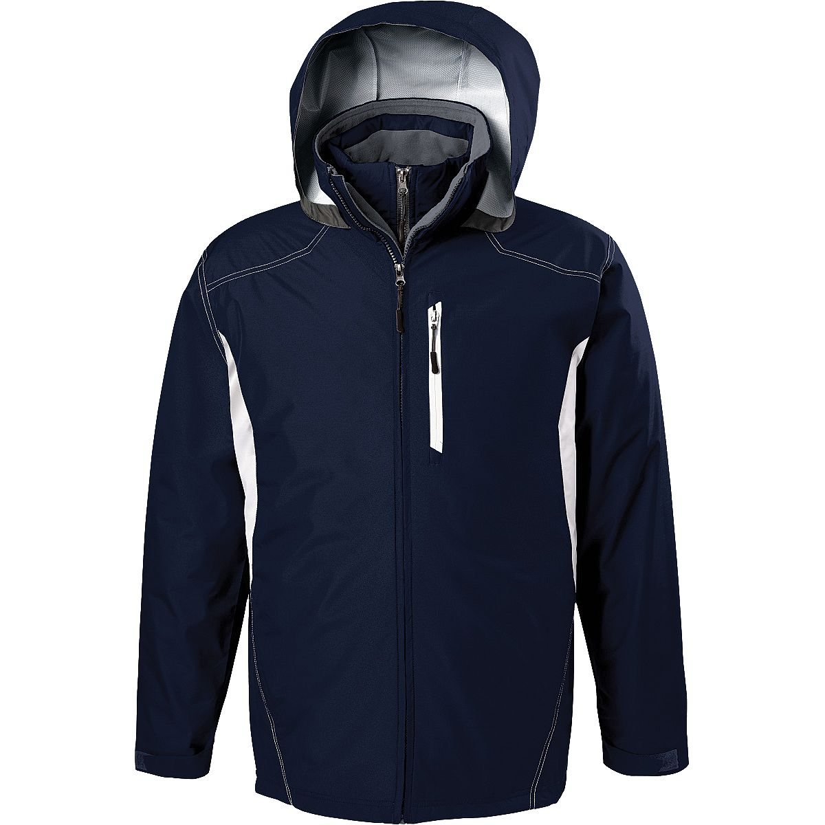 Holloway Interval Jacket Nvwhgt 3Xl - image 1 of 1
