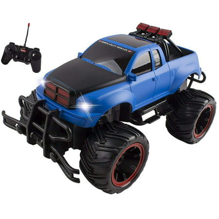 RC Monster Truck Buggy Remote Control Car RTR Electric Truggy Vehicle 1:16 Large Scale Working Suspension Perfect Kids Off-Road Race Toy (Truggy Race)
