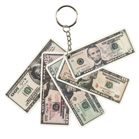 Money Key Chain - 12 per pack (Money Keys)