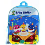 "Mini Backpack - Pink Fong - Baby Shark 10"" New 305831"