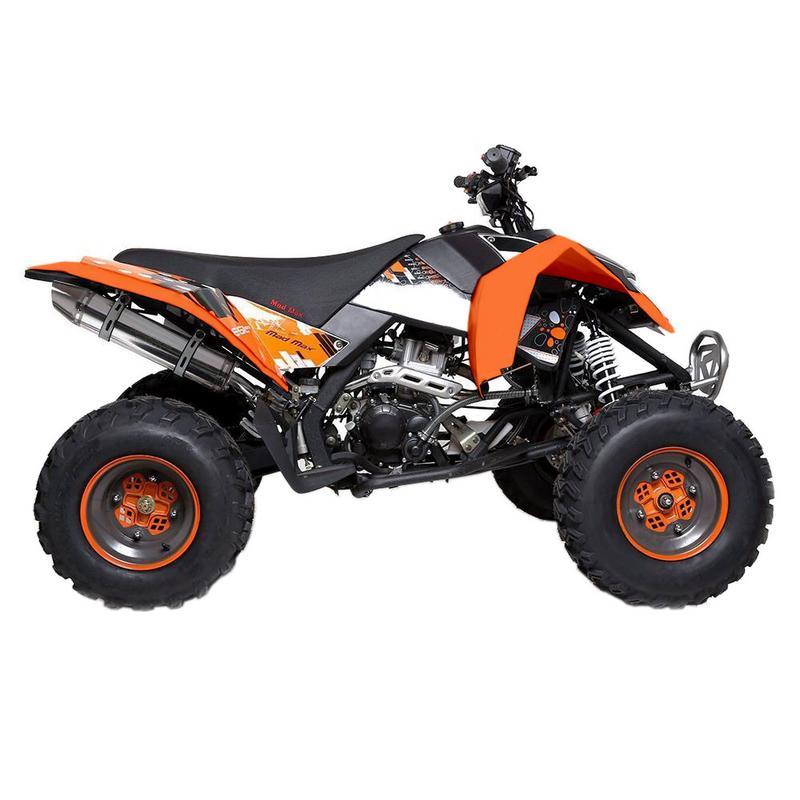 T4B MADMAX ADULT ATV 250cc Dirt Quad Recreational Outdoors, Off-Road, All Terrain, 4 stroke, single-cylinder, air-cooled - Black - image 1 de 7