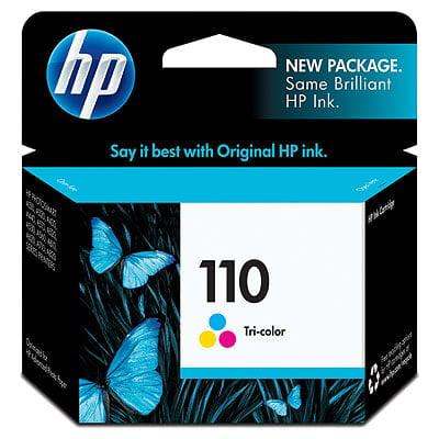 HP 110 Tri-color Original Ink -