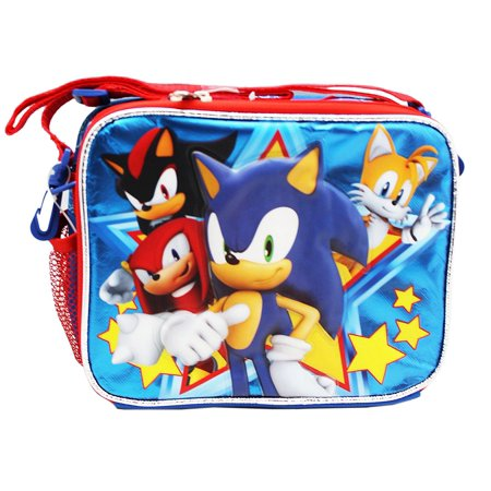 Sonic The Hedgehog And Tails (Sonic, Shadow, Tails, and Knuckles Insulated Lunch Bag, Sonic the Hedgehog lunch bag By Sonic The)