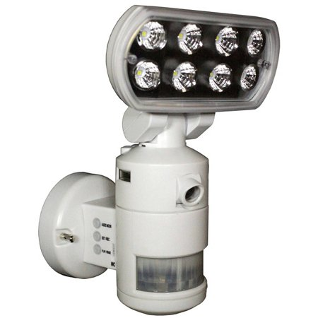 Versonel Nightwatcher Pro Motorized Led Security Motion Tracking Flood Light With Color Camera