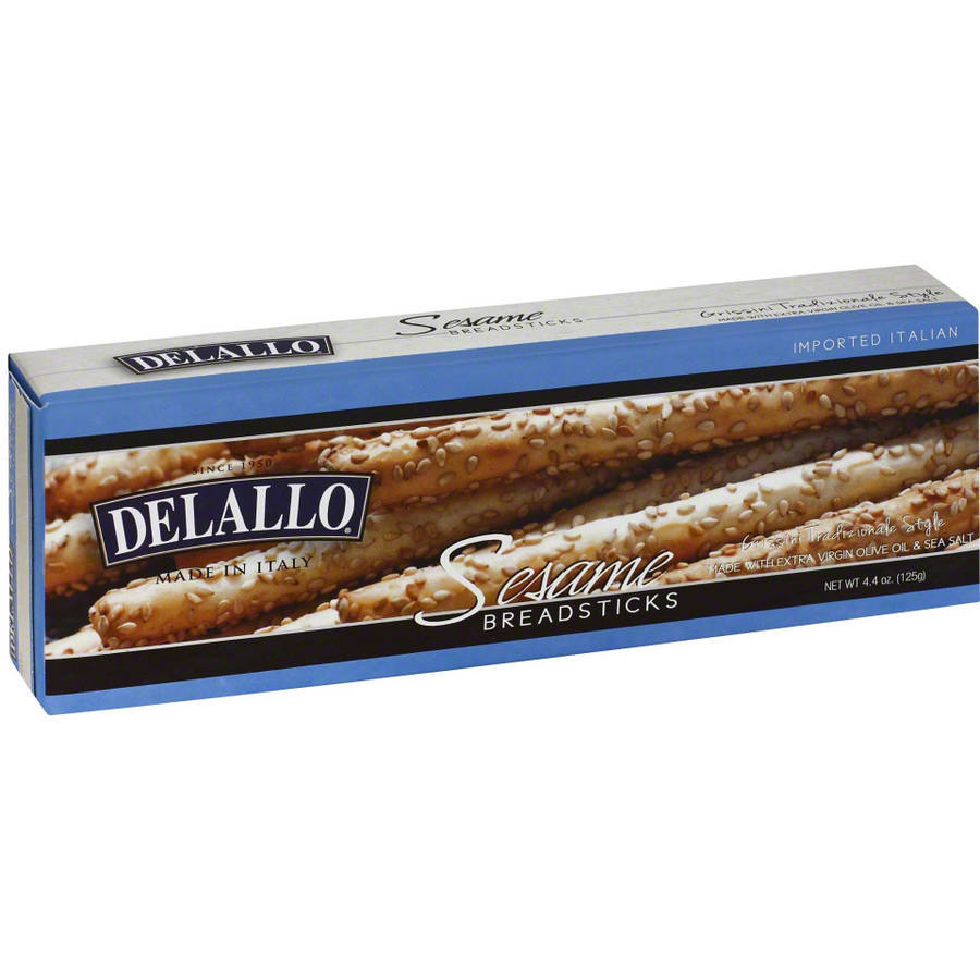 Delallo Breadstick Sesame, 4.4 Oz (pack