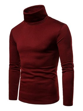 2d9713c02ea8 Product Image Men s Casual Slim Fit Basic Tops Knitted Thermal Turtleneck  Pullover Sweater