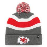 Kansas City Chiefs '47 Breakaway Cuffed Knit Hat With Pom - Charcoal - OSFA