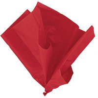 Red Tissue Paper, 10 Sheets