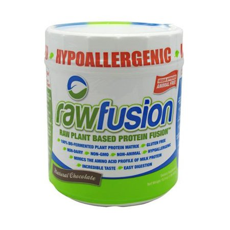 San rawfusion usine de base de protéines Fusion chocolat naturel - 15 Portions