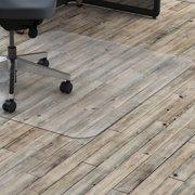 Lorell 36 x 48 Chair Mat for Hard Floor, Rectangular