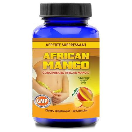 African Mango 100-percent Pure Extract 500mg Pills (60