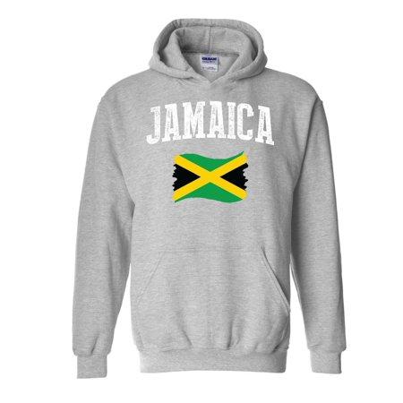 Jamaica Ski (Jamaica Unisex Hoodie Hooded)