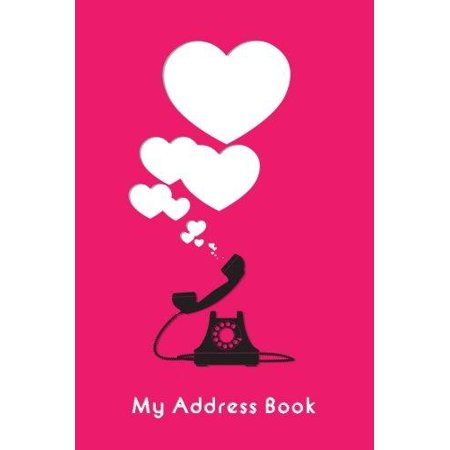 My Address Book  Abstract Illustration Telephone  6 X 9  111 Pages