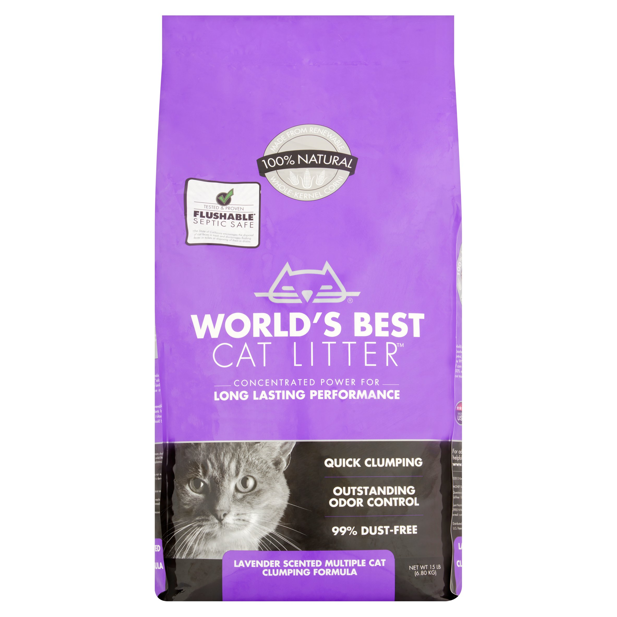 World S Best Cat Litter Lavender