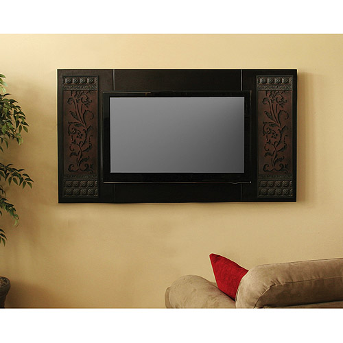 "Decorative Panel for 40"" to 47"" Televisions, Mocha"