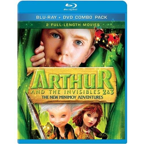Arthur And The Invisibles 2 & 3: The New Minimoy Adventures (Blu-Ray + Standard DVD) (Exclusive) (Widescreen)