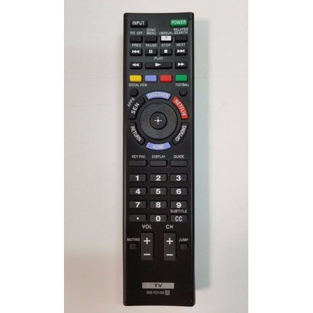 Replacement Sony RM-YD103 Smart TV Remote Control for KDL-60W630B KDL-40W590B KDL-40W600B KDL-48W600B (Sony Tv Remote Controls)