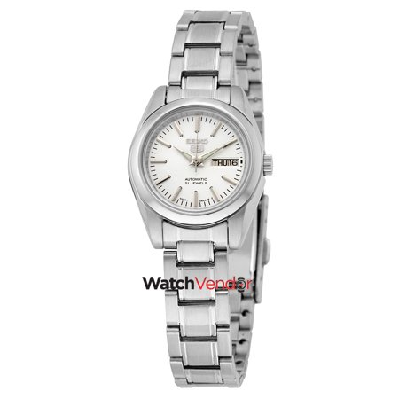 fe7b53c71ce Seiko 5 Automatic Silver Dial Stainless Steel Ladies Watch SYMK13 - image 1  of 3 ...
