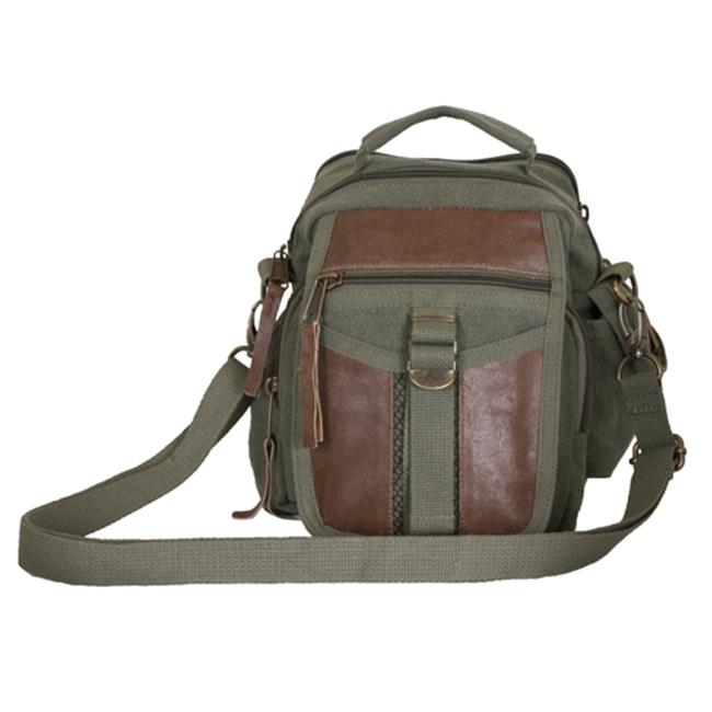 Fox Outdoor 41-90 Classic Euro On The Go Travel Organizer Bag Olive Drab by