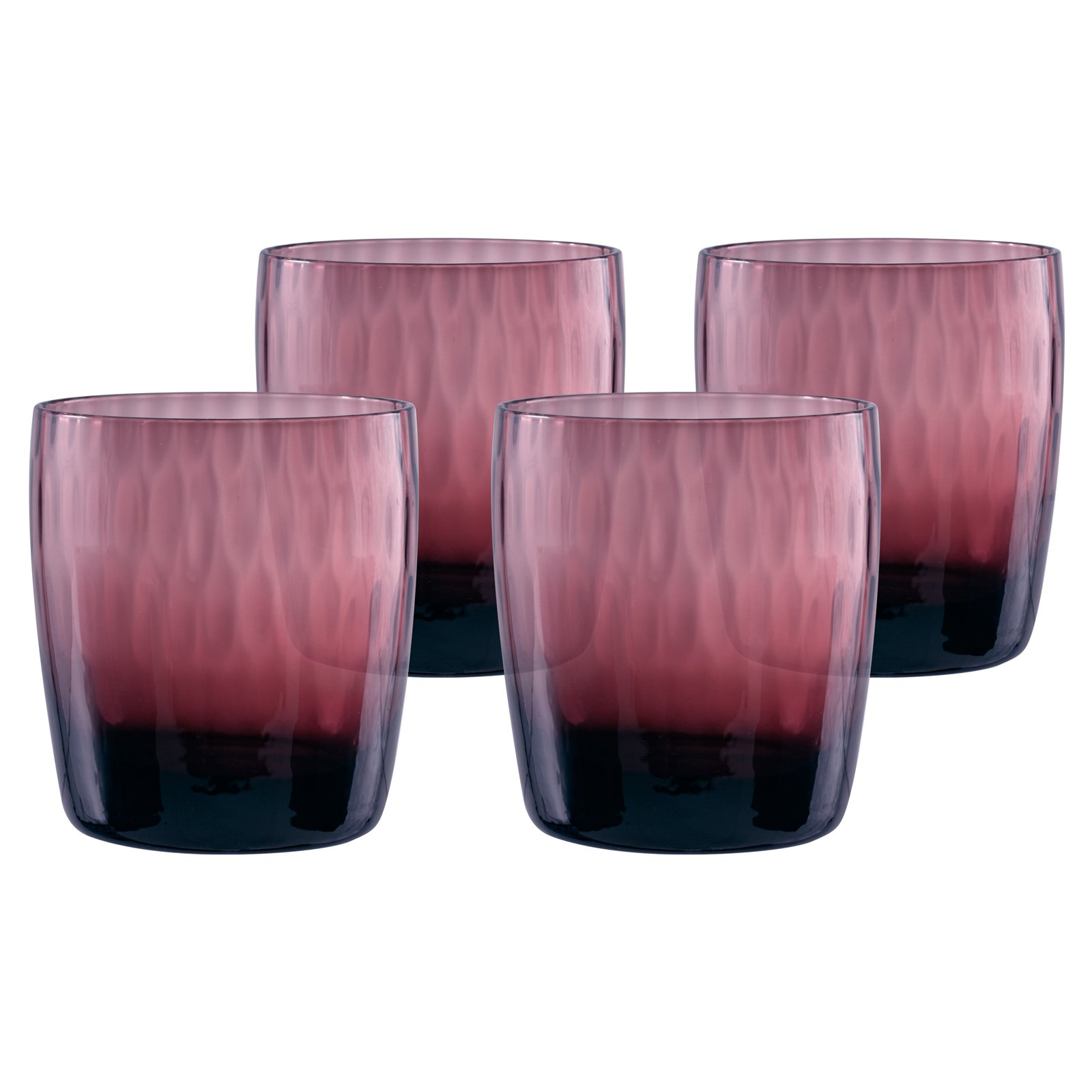 Artland Pebbles DOF Glass - Set of 4